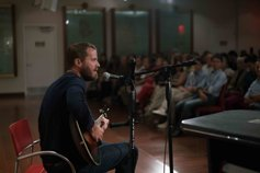 Wil Seabrook performing at the Church of Scientology of Harlem Community Center