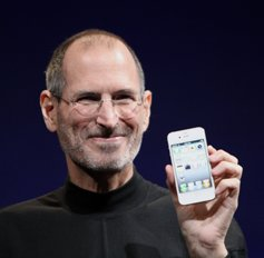 The late co-founder and CEO of Apple Inc., Steve Jobs