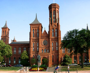 The Smithsonian Institution's first building