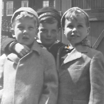 Bernard Percy and his childhood friends