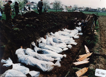 Vitez massacre in Bosnia