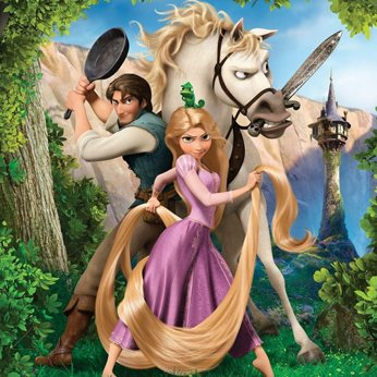 Tangled movie poster