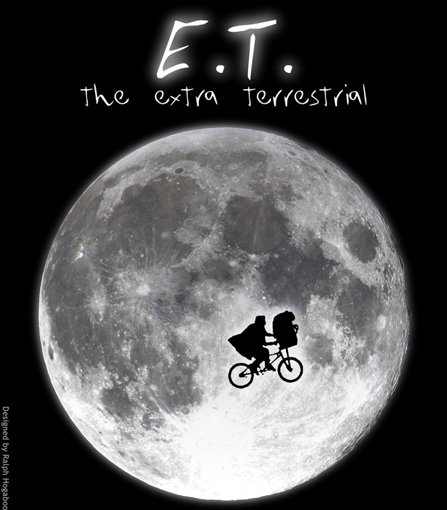 An image from a poster for ET
