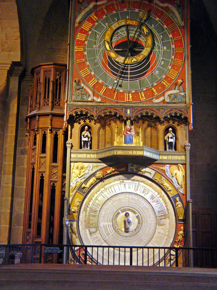 The astrological clock in Lund, Cathedral