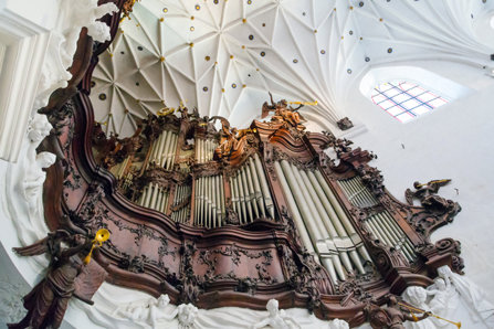 A Church organ