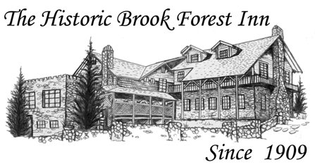 The historic Brook Forest inn