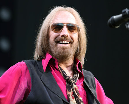 Tom Petty performing in concert in New York.