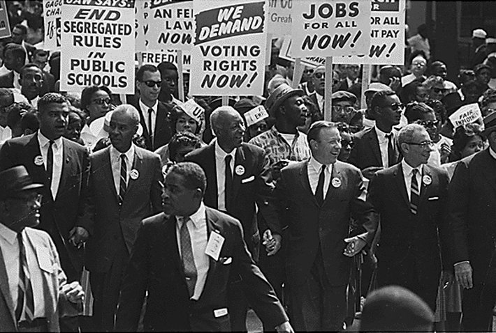 A 1960 protest for black rights