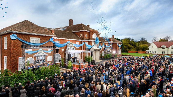 The grand opening of the new Church of Scientology Birmingham