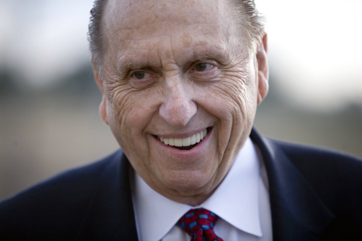 The Church of Jesus Christ of Latter-day Saints President Thomas Monson
