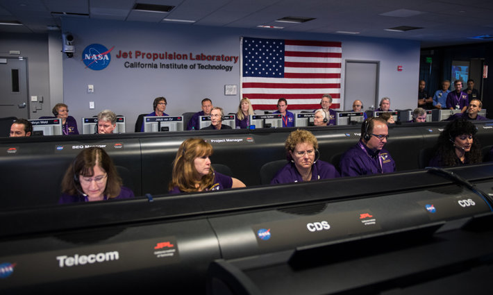 The Cassini team