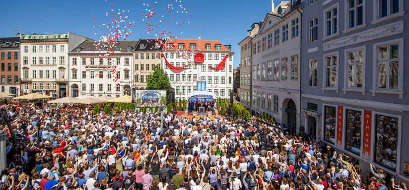 Grand opening of the Ideal Church of Scientology of Denmark
