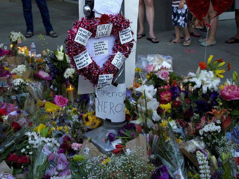A vigil for the victims of the Portland train attack