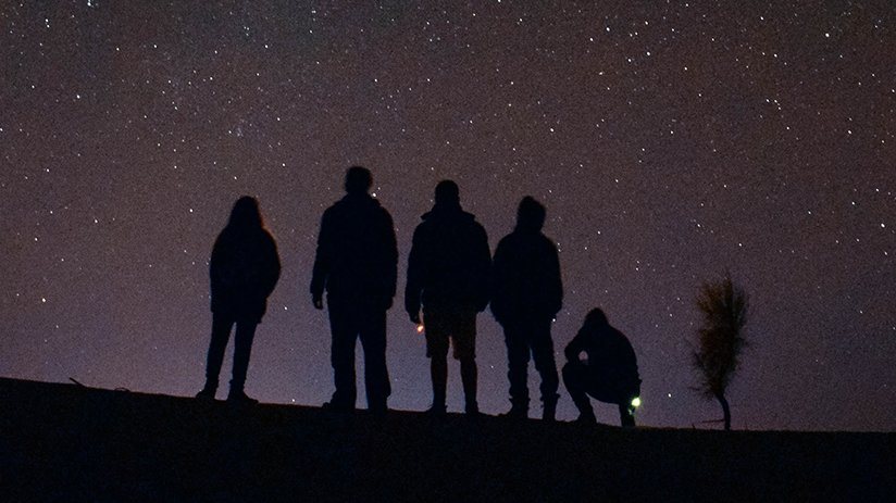 A group star-gazing